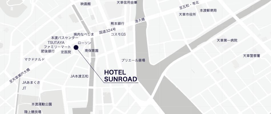 ホテル周辺